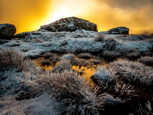 Vinterlig på Årsundfjellet