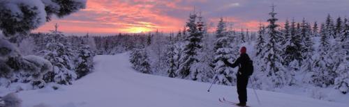 Vintertur i Gullverket. Foto Geir Brækkan