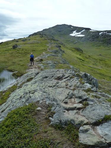 På vei mot toppen
