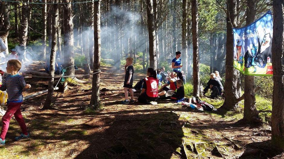 Flott fellesarr. BT Selje og Stadlandet på Risnakken i Selje