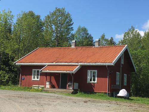 Våningshuset på Nedre Gupu