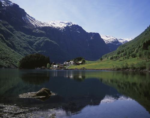 Nærøyfjorden. Foto: Innovasjon Norge/Frithjof Fure