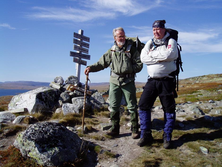 To kjekke karer på Hardangervidda Foto: Hilde Løken Magnussen