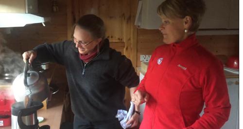 Turlaget har overtatt Røde Kors-hytta