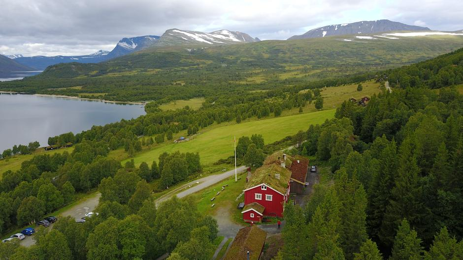 Gjevilvasshytta i Trollheimen er kåret til DNTs fineste hytte.