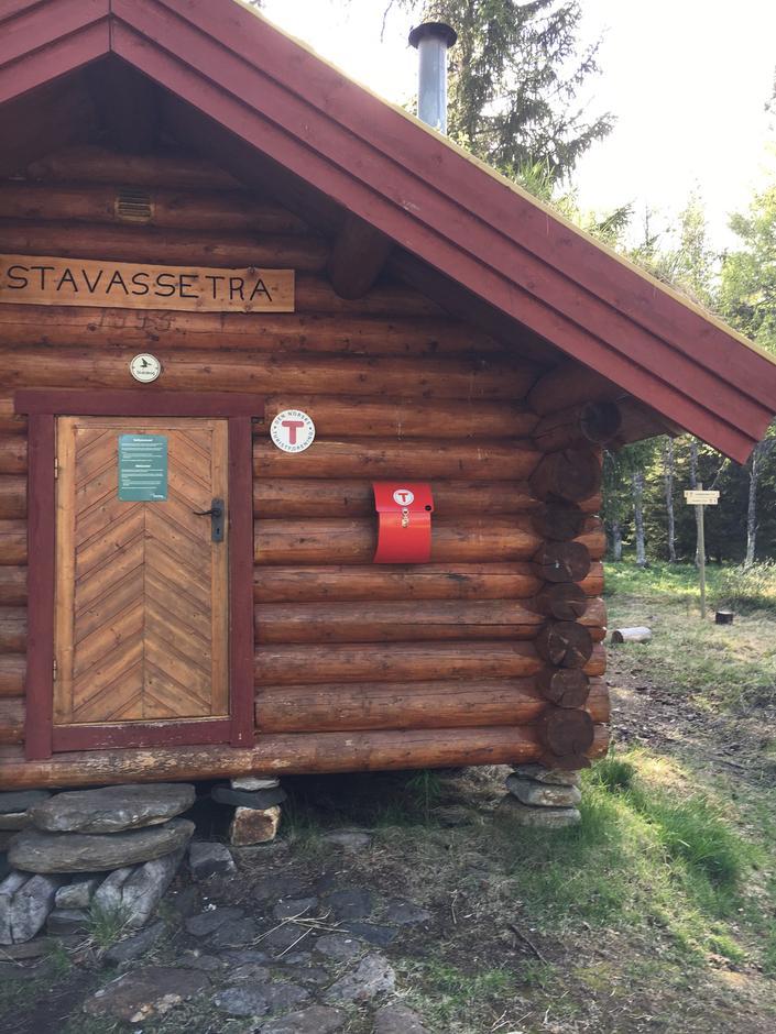 DNT postkasse ved Stavassætra
