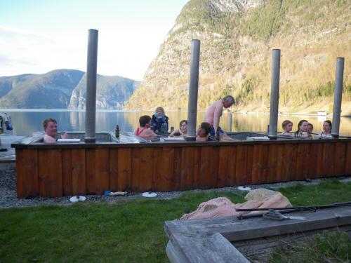 I badestampen i Fresvik