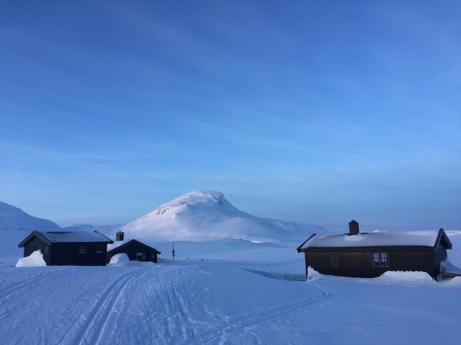 Sulebu, 1.330 moh. Bildet er tatt 13.02.17