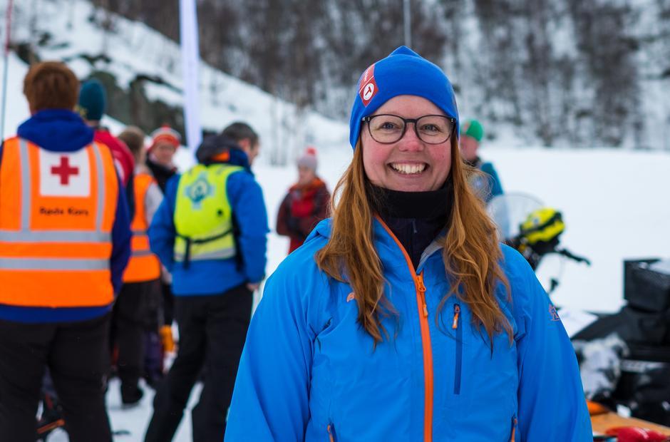 Julie Jacobi Jonstrup er frivillig i styret til Fjellsportgruppa i STF, og setter stor pris på alle de kjekke aktivitetene hun får være med på som frivillig.
