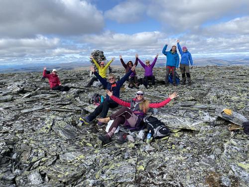 Nest siste helgen i august var det yoga og fotturer i Rondane