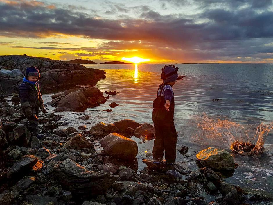 Solnedgangtur/kveldsmattur til Skålvika Onsdag 3. oktober 2018