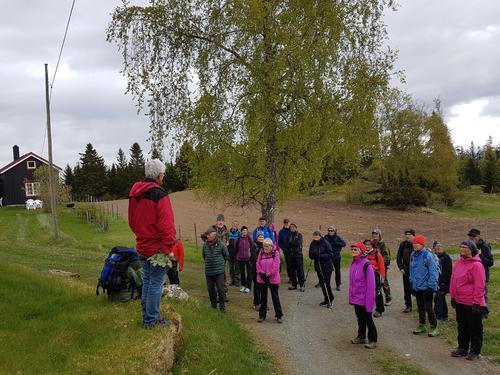 Veteranan Innherred utforsket Ytterøya