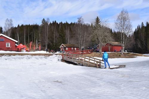 En flott vinterlig Kom deg ut-dag på Trollsvann