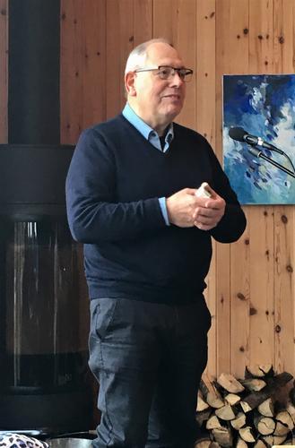 Georg Pollestad under en tidligere konsert på Gramstad.