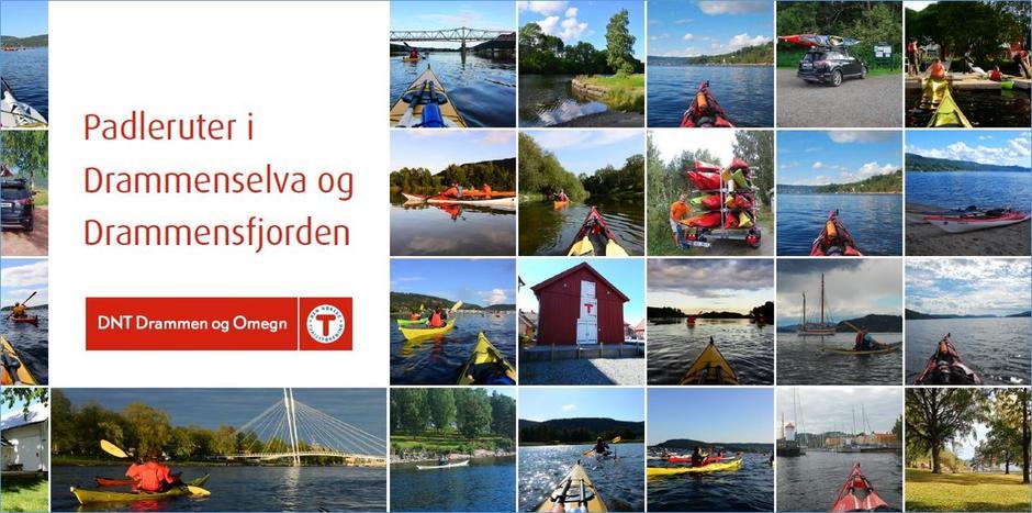 Ta en digital reise i padleleden - TRYKK på bildet så kommer du til padlebrosjyren