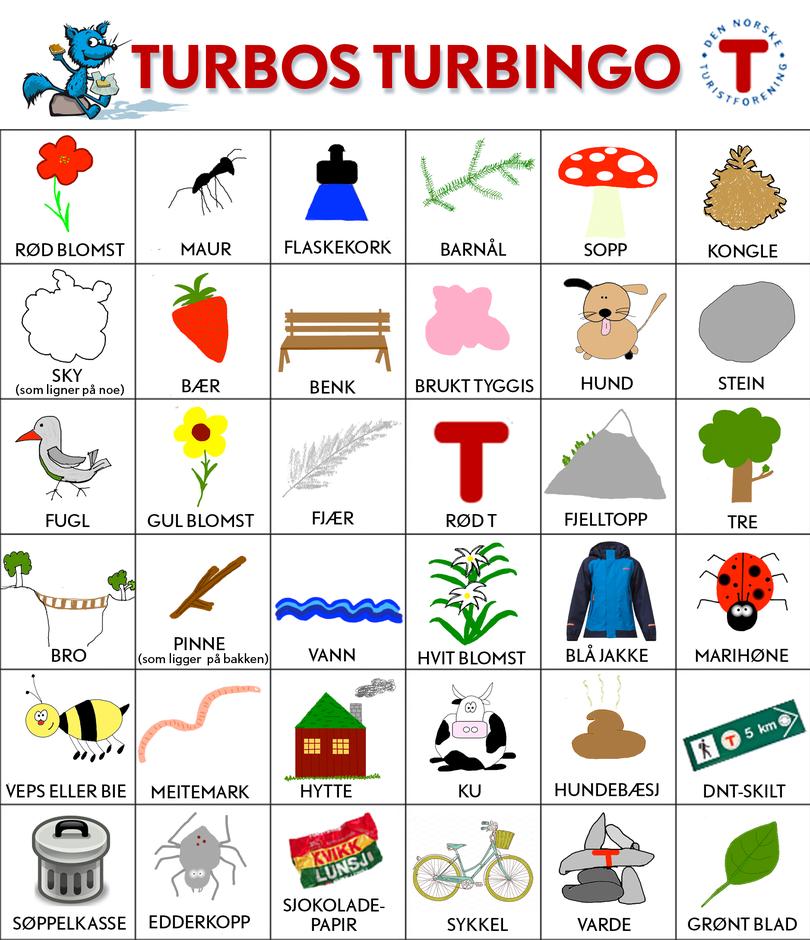 Jeg fant, jeg fant! På Turbingo — Den Norske Turistforening