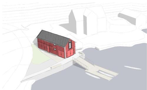 DNT Sunnmøre bygger padlesenter i Nørvasundet