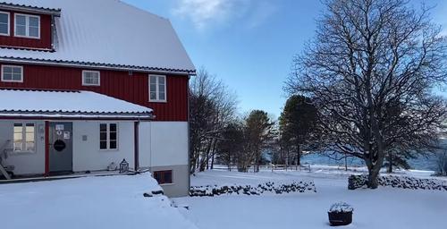 Snøen har kommet til Øitangen!
