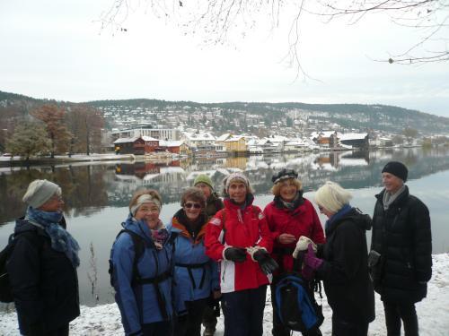 På tur langs Drammenselva