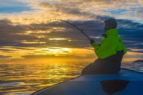 Bli med på det som kan bli en eventyrlig fisketur.