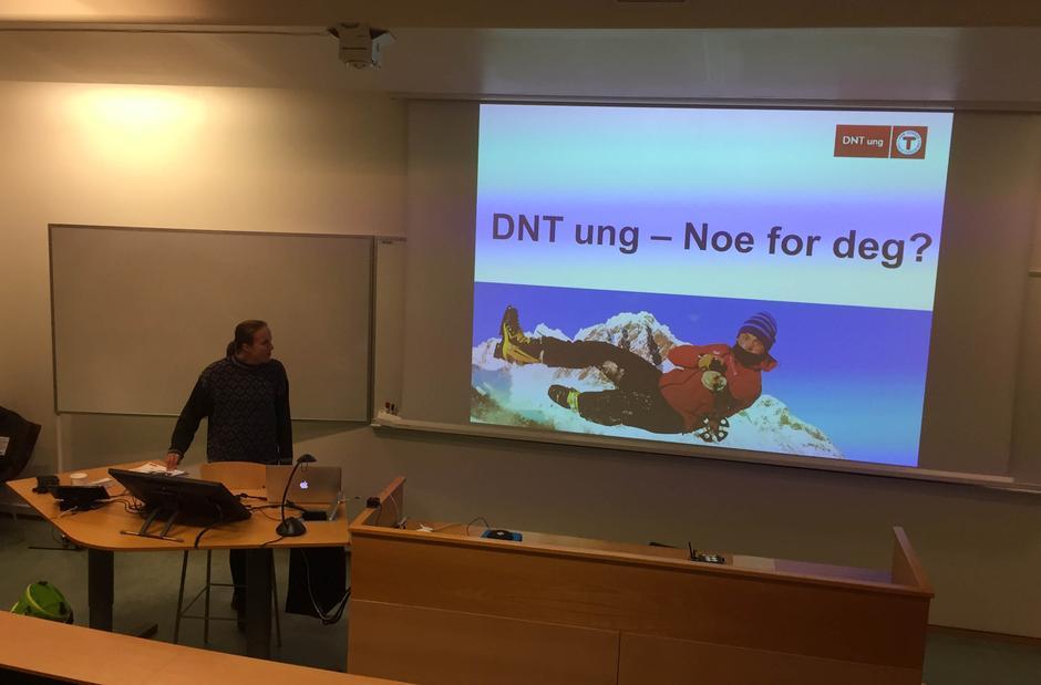 Presentasjon av DNT ung