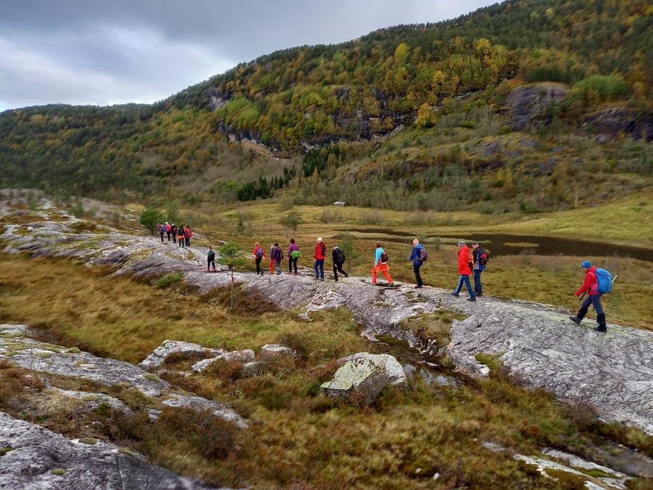 Høst i fjellet. Her frå fellestur til Norddalsfjorden i oktober
