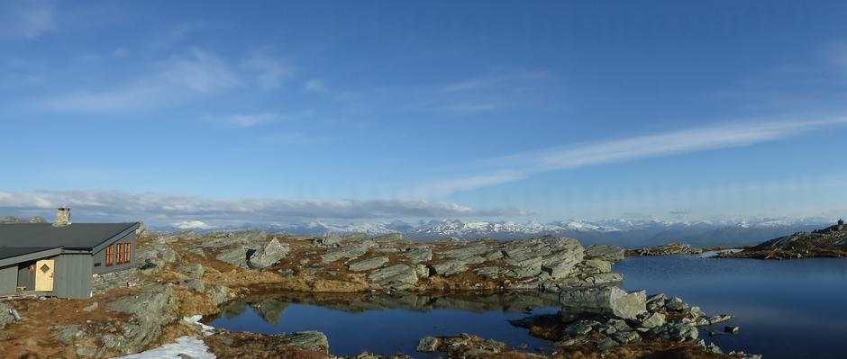 Panorama fra Hardbakkhytta