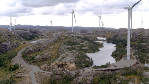 -Trekk naturødeleggende vindkonsesjoner