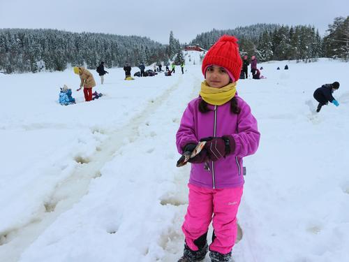 Flott dag med isfiske på Garsjø