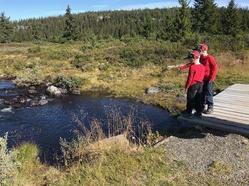 1. september hadde Barnas Turlag tur til Makalausfjellet
