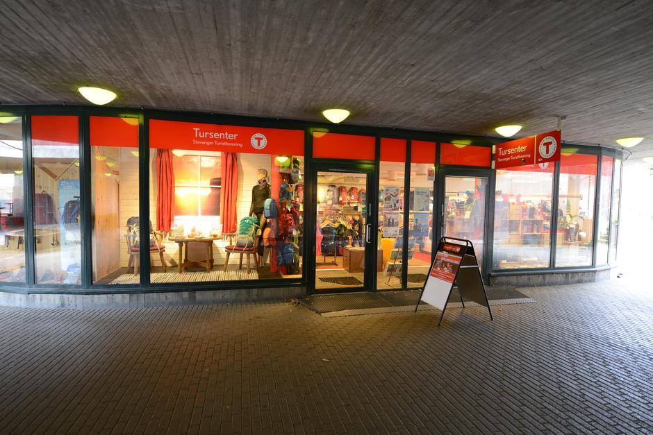 Tursenteret i undergangen v/ Rogaland Teater