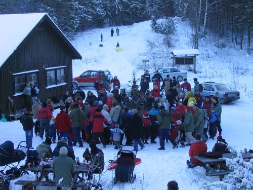 Juletrefest på Lauvesetra 2. juledag