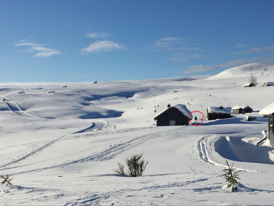 Vinterposten på Holestøylen