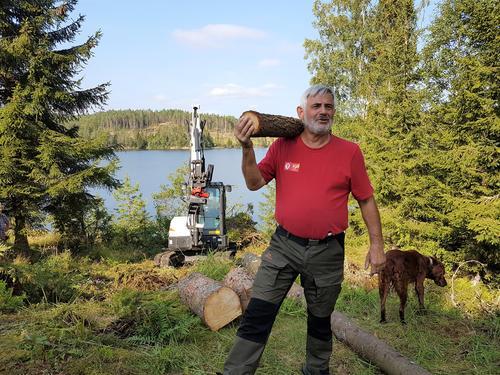 Oppstart av bygging av nytt toalettanlegg på Ravnsjø