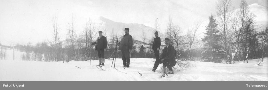 Opp Tespdalen, 5. mars 1911