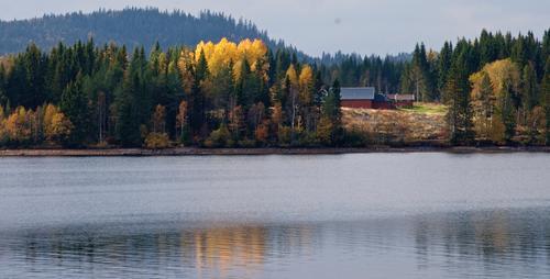 Fredrikstad gård ligger vakkert til ved Ørfiske