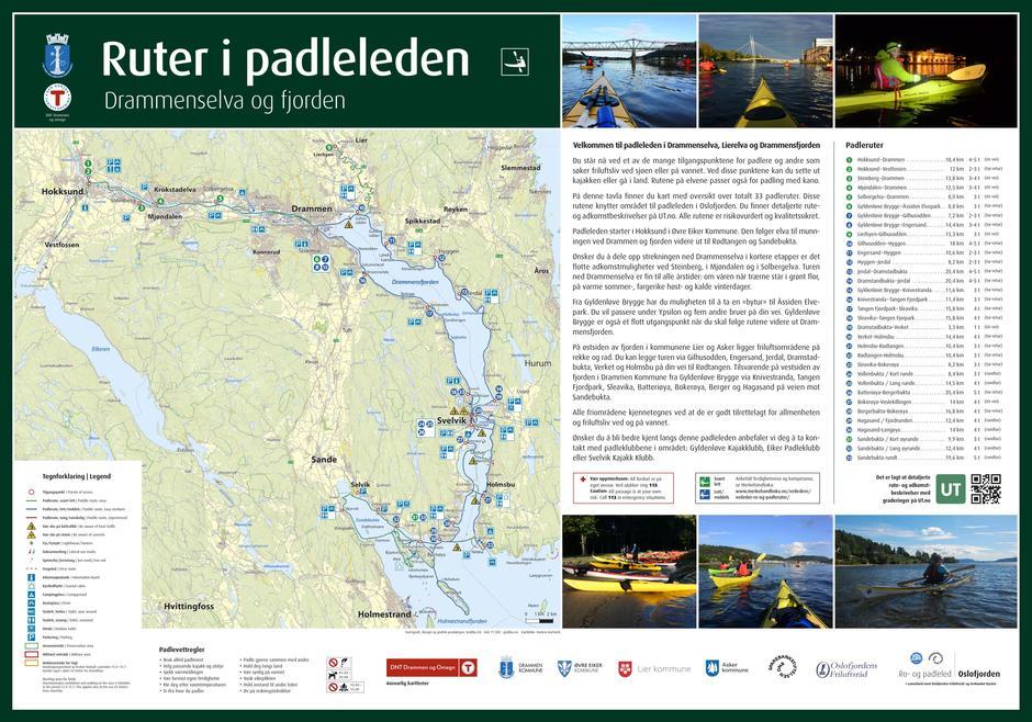 Ta en tur i Padleleden - TRYKK på padletavla så kommer du til UT.no - Når du kommer dit velg turforslag og padletur