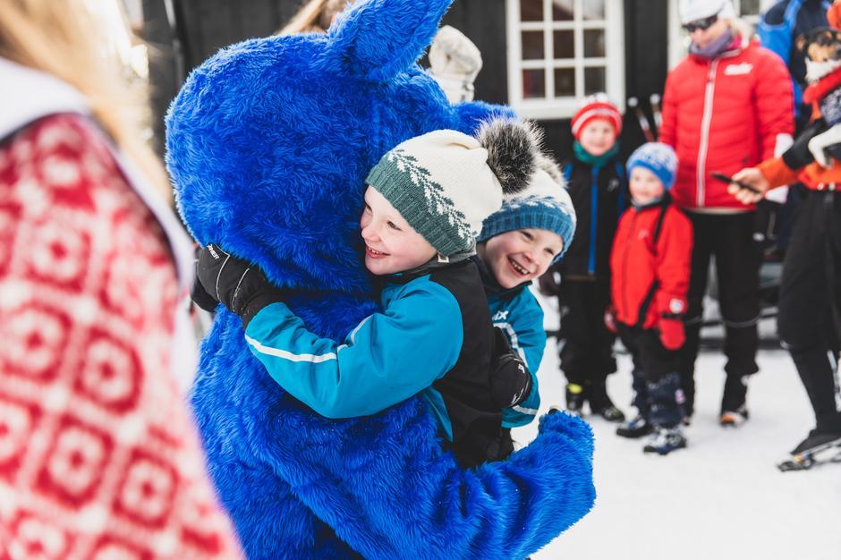 Søndag 2. februar koste over førti tusen mennesker seg ute på tur med DNT. På Hedmarksvidda ble det rekordbesøk.