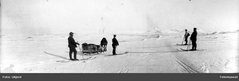 Bjellåvassryggen 9. mars 1911