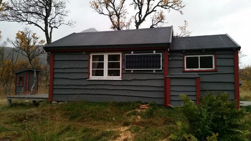 Solcelleanlegg på Ingemannhytta!