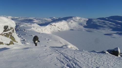 Skiføre i hele regionen i Setesdal