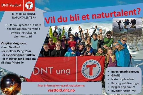 Infomøte om Unge Naturtalenter i Larvik