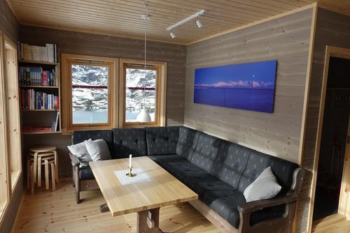 Nye bilder på Store Trollfjordhytta