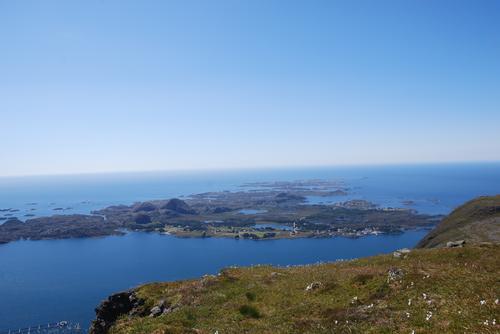 Alden med utsikt mot Værlandet og Bulandet