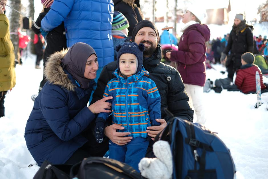 Familiehygge på Sognsvann