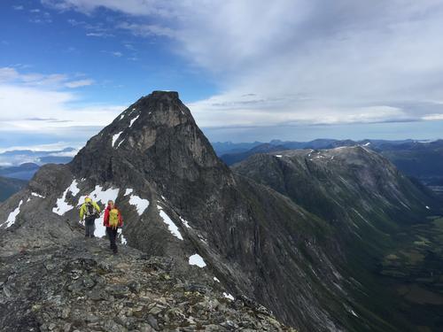 Samling i Romsdalen med DNT Fjellsport