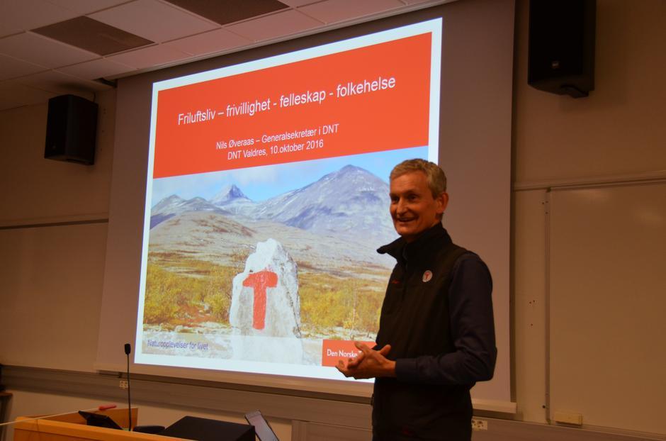 Nils Øveraas med foredrag hos DNT Valdres