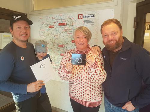 Sparebankstiftelsen DNB støtter DNT Øitangen