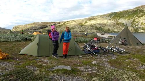 7. august var Barnas Turlag i Rondane