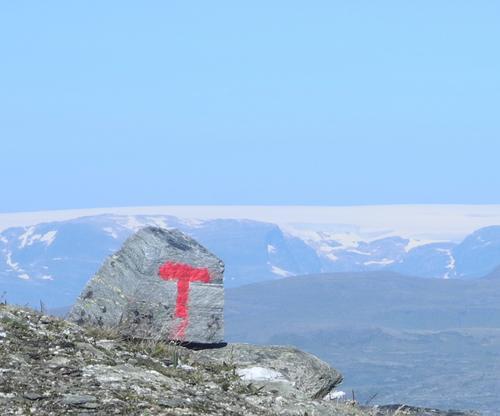 Mot Hardangerjøkulen (Foto Ole Jakob Bråten)
